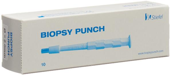 BIOPSY PUNCH 2mm stér 10 pce
