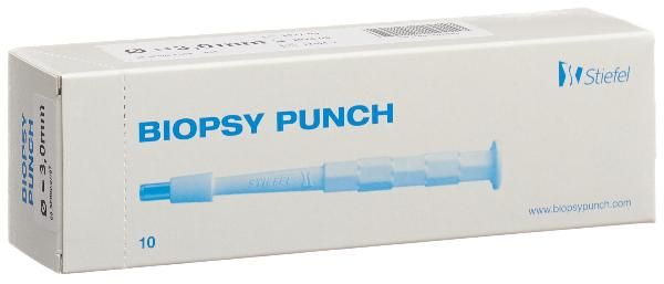 BIOPSY PUNCH 3mm stér 10 pce