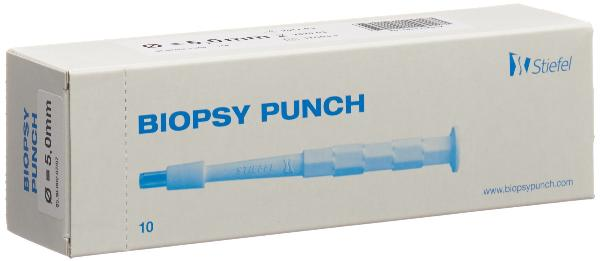 BIOPSY PUNCH 5mm stér 10 pce