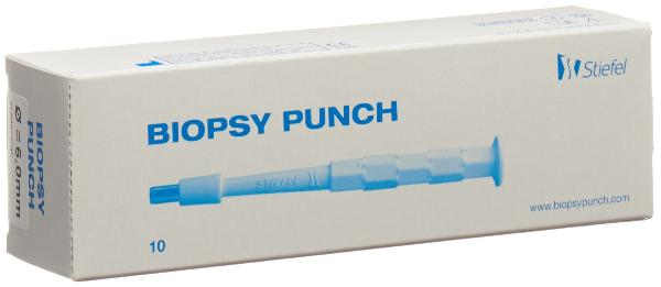 BIOPSY PUNCH 6mm stér 10 pce