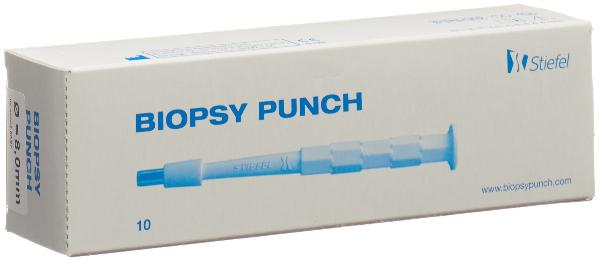 BIOPSY PUNCH 8mm stér 10 pce