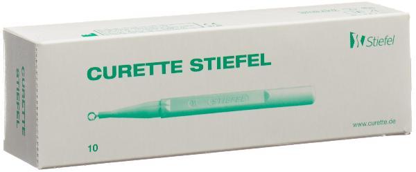 STIEFEL Curette 7mm 10 Stk
