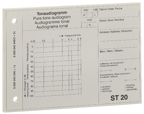 MAICO audiogrammblock ST MOD 20
