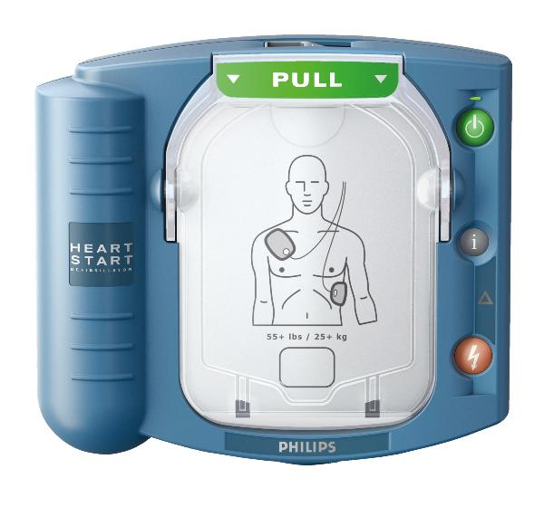 PHILIPS HeartStart HS1 défi premier secours all