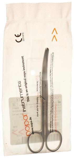 NOPA ciseaux courbes standard 14.5cm p/m