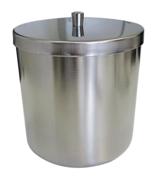 FH Wattebehälter mit Knopfdeckel 120x120mm