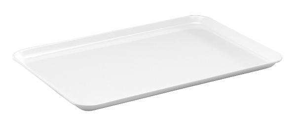 FH plateau d'instruments 360x240mm blanc