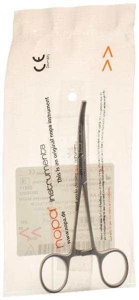 NOPA Arterienklemme Kocher Ochsner 14cm gebogen