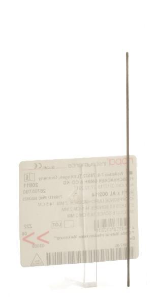 NOPA Knopfsonde ø2mm 14.5cm
