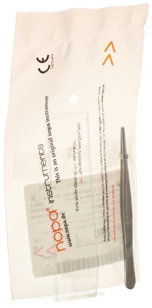 NOPA pince anatomique standard droit 11.5cm