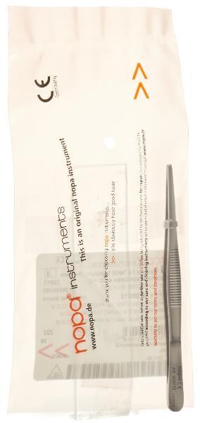NOPA pince anatomique standard droit 13cm
