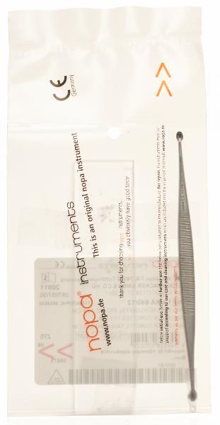 NOPA Scharfer Löffel Williger 13.5cm Fig. 1/2