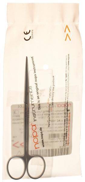 NOPA Metzenbaum ciseau droites 14.5 cm fig.1