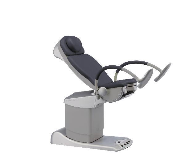 SCHMITZ Medi Matic chaise gynécologique gris-tit91