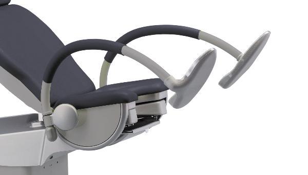 SCHMITZ Medi Matic appuis pied chaise gris 1 paire