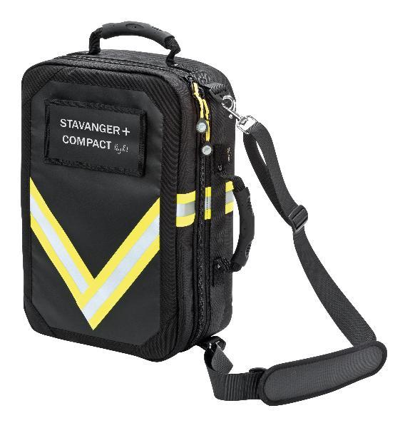 STAVANGER + COMPACT light Rettungsrucksack schwarz