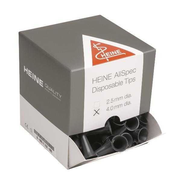HEINE Ohrtips 1x AllSpec 4.0mm grau 250 Stk