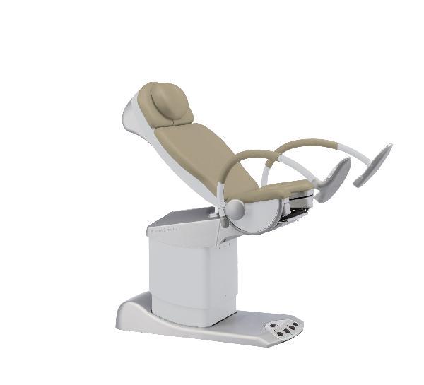 SCHMITZ Medi Matic chaise gynéco ZEN café lait 102